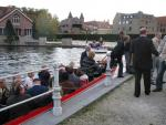 Roundtrip on the channels through Brugge
