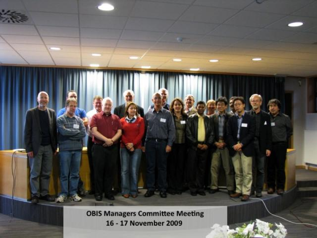 OBIS Managers Committee Meeting, 16 - 17 November 2009, Oostende, Belgium